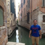 Jim Hoff (LAS MS '09) in Venice, Italy.