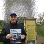 Jim Patterson (BUS '78) at the Royal Botanic Gardens, Kew, London.