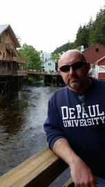 Kenneth Bator (BUS '91, MBA '97) in Ketchikan, Alaska.