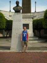 Nicholas Johnson (LAS '08) in Panama City, Panama.