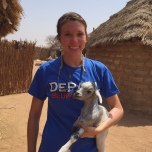Tina Verrilli (CSH '14) in Senegal.