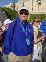William P. Kusack Jr. (MBA '78) in Israel.