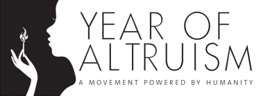 Year of Altruism logo