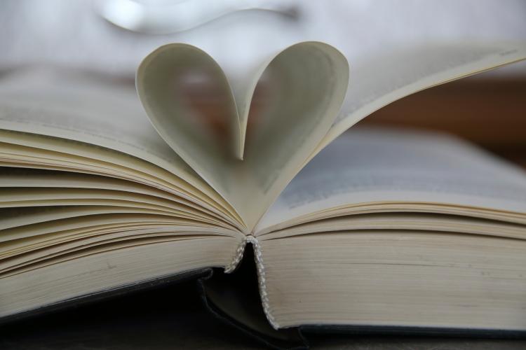 Valentine book from iStock