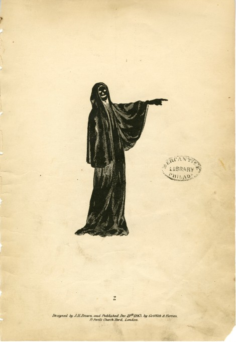 """""""Spectropia,"""" published in 1864, is filled with optical illusions of ghostly apparitions. Picked by Jane Connelly."""