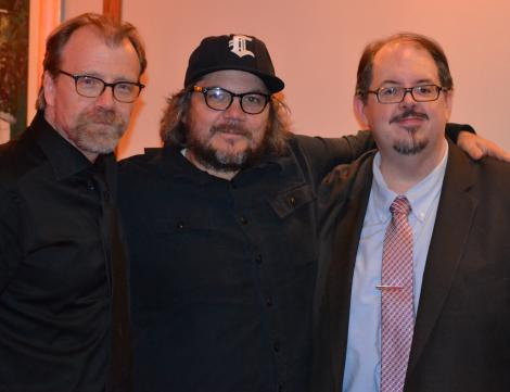 George Saunders, Jeff Tweedy and H. Peter Steeves