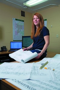 Crystalyn DelaCruz (LAS '07) supports the Village of Lisle, Ill., with her GIS skills. Photo credit: Tom Vangel