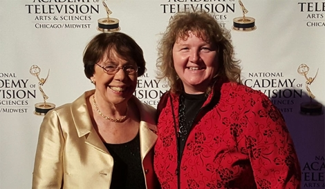 Werhane and Brenda Bowyer, producer and editor, attended the 2015 Chicago/Midwest Emmy Award ceremony on Nov. 7.