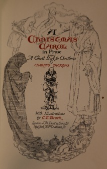 The title page of the 1905 edition provides an illustrated summary of the novel's plot.
