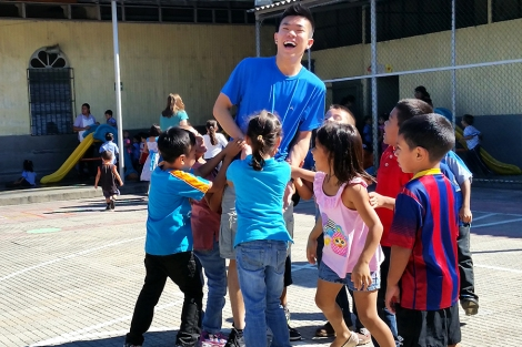San Salvador children daycare center