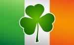 St. Patrick's Day Irish Flag Shamrock