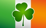 St. Patrick's Day Irish Flag Shamrock