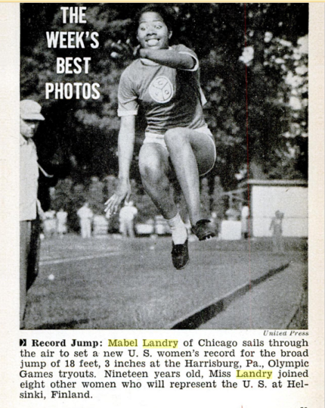 Jet magazine featured this photo of Staton in its July 17, 1952, issue.