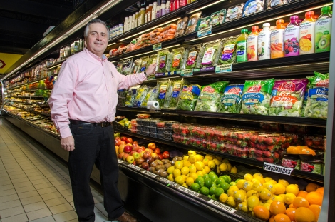 During the last several years, John Mourikes, owner of Foodsmart in Logan Square, had noticed a shift in the products his customers have requested. Photo credit: Megan Doherty