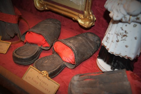 St. Vincent's slippers