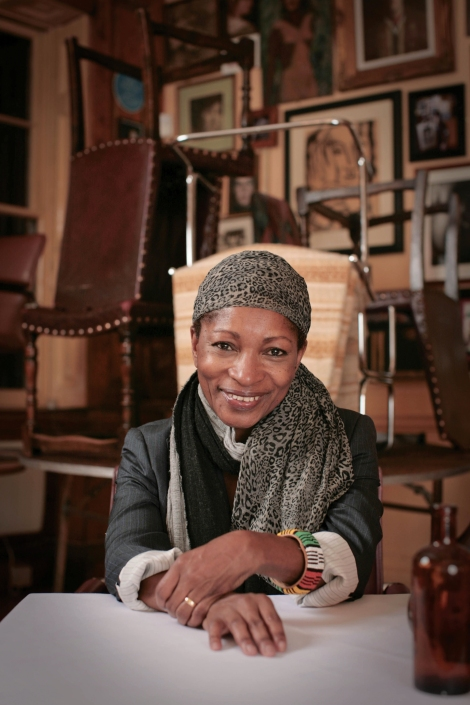 American-born playwright and critic Bonnie Greer
