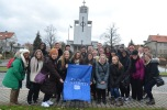 Participants in the the nursing study abroad program in the Czech Republic.