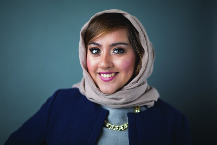 Photo by TKPhotography of DePaul junior Bushra Amiwala