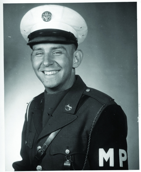 photo of U.S. Army MP Bob Skaleski