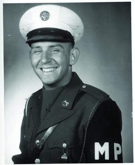 photo of U.S. Army MP Bob Skaleski