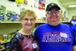 Stanley Herzog (BUS '68) and his wife, Dianne, on Vincentian Service Day at the St. James Food Pantry in Chicago's Bronzeville neighborhood.