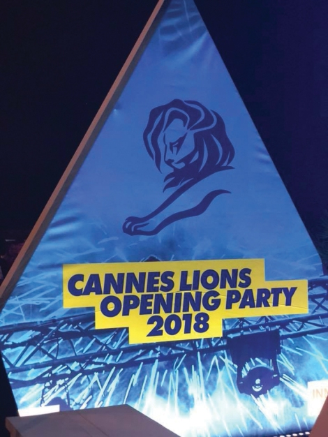 Cannes Lions Opening Party 2018