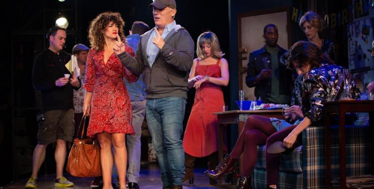 "Theatre School alumnus Scott Ellis directs the musical ""Tootsie"" in Chicago"